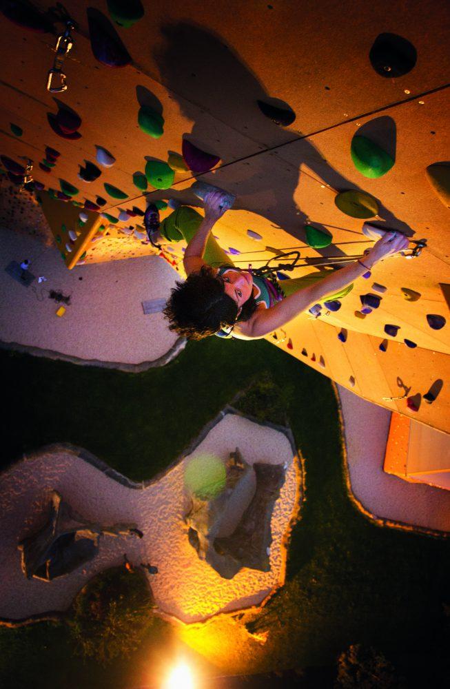 Begona climbing Excalibur
